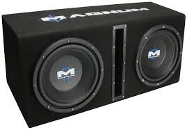 "MTX AUDIO Car Speakers/Speaker System 2 10"" SPEAKERS SUB IN BOX"