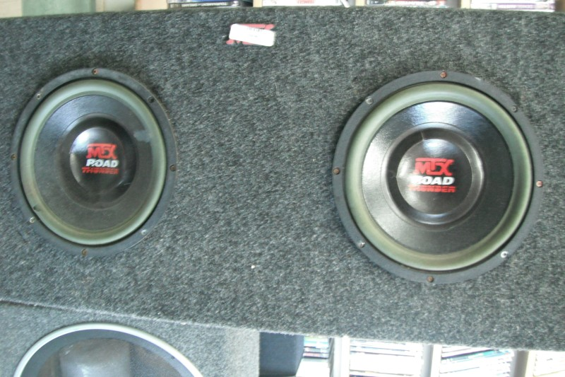 MTX AUDIO Car Speakers/Speaker System ROAD THUNDER
