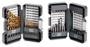 MASTER MECHANIC Drill Bits/Blades TITANIUM DRILL BIT SET 29 PIECE