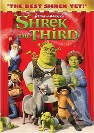 DVD MOVIE DVD SHREK THE THIRD
