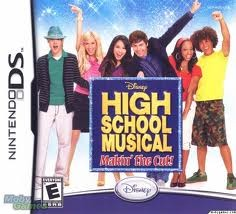 NINTENDO Nintendo DS Game HIGH SCHOOL MUSICAL MAKIN' THE CUT