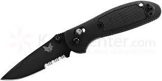 BENCHMADE Pocket Knife 556SBK MINI GRIPTILIAN