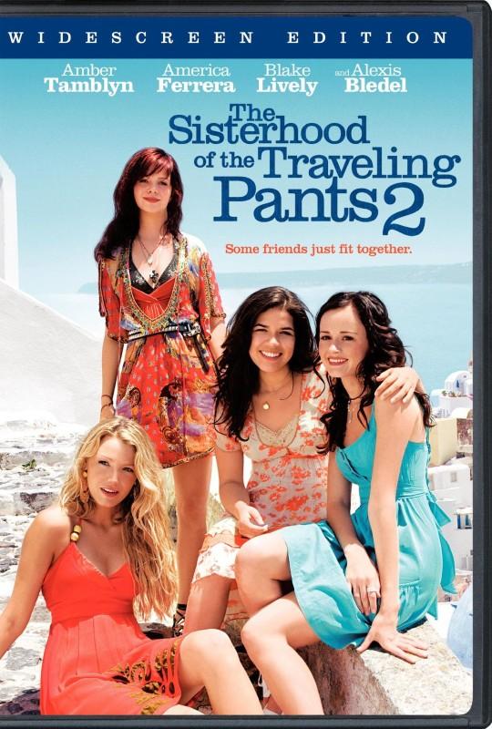 DVD MOVIE DVD THE SISTERHOOD OF THE TRAVELING PANTS 2