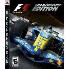 SONY Sony PlayStation 3 Game FORMULA 1 CHAMPIONSHIP EDITION