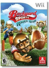 NINTENDO Wii Game BACKYARD SPORTS ROOKIE RUSH