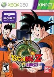 MICROSOFT Microsoft XBOX 360 Game DRAGONBALL Z FOR KINECT