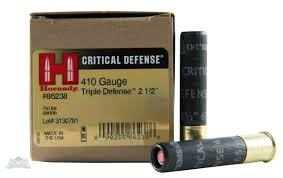HORNADY Ammunition CRITICAL DEFENSE 410 TRIPLE DEFENSE