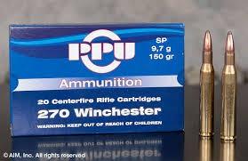 PRVI PARTIZAN Ammunition 270 WINCHESTER
