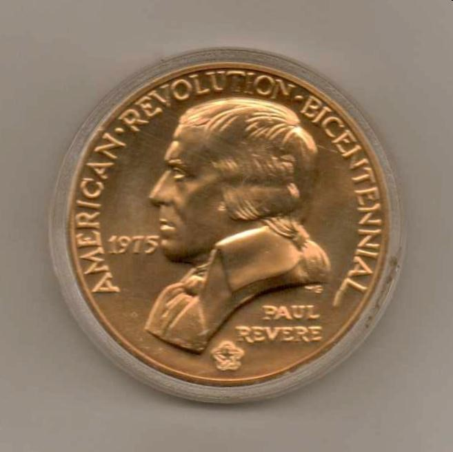 UNITED STATES Coin 1975 BICENTENNIAL MEDAL