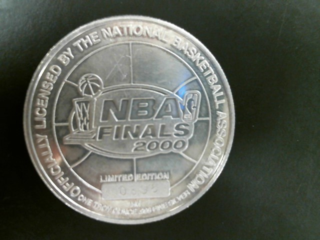 NBA Silver Coin LIMITED EDITION 2000 REGGIE MILLER SILVER COIN
