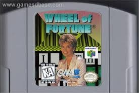 NINTENDO Nintendo 64 Game N64 WHEEL OF FORTUNE