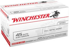 WINCHESTER Ammunition 45 AUTO 230GR FMJ