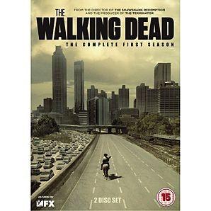 DVD BOX SET DVD THE WALKING DEAD SEASON ONE