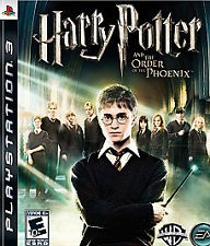 SONY Sony PlayStation 3 Game HARRY POTTER AND THE ORDER OF THE PHOENIX