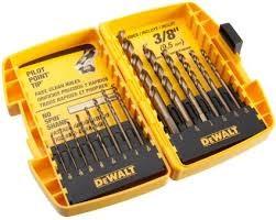 DEWALT Drill Bits/Blades 14 PIECE DRILL BIT SET