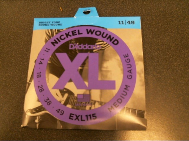 D'ADDARIO Musical Instruments Part/Accessory EXL115