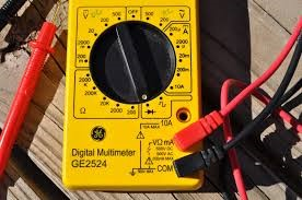 GE Multimeter DIGITAL MULTIMETER GE2524