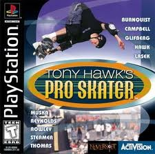 SONY Sony PlayStation TONY HAWK'S PRO SKATER