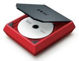 NINTENDO Wii Mini Red Console RVL-201 w/Controller & Nunchuck