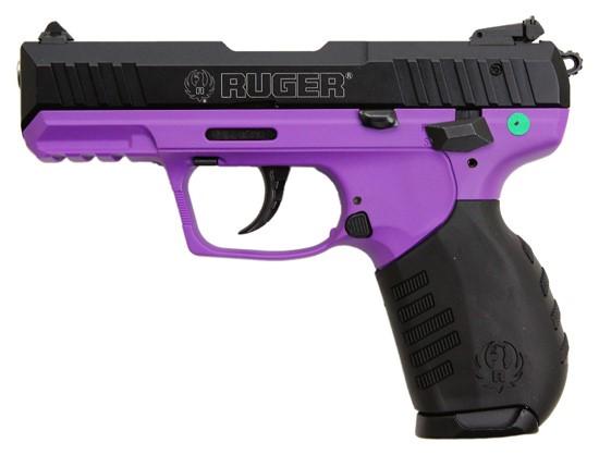 RUGER Pistol SR22P-PG BLK/LAVENDER