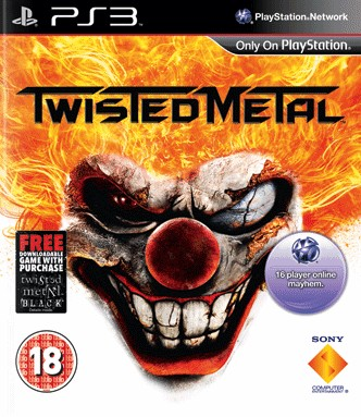 SONY Sony PlayStation 3 Game TWISTED METAL PS3