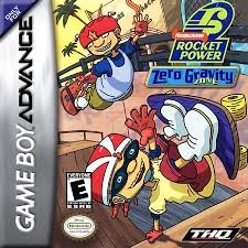 NINTENDO Nintendo GBA Game ROCKET POWER ZERO GRAVITY ZONE