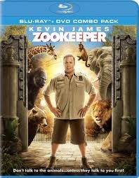 ZOOKEEPER, COMEDY BLU-RAY MOVIE, STARRING KEVIN JAMES, COMBO PAK