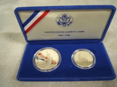 UNITED STATES Proof Set UNITED STATES LIBERTY COINS 1886-1986