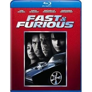 BLU-RAY MOVIE Blu-Ray FAST & FURIOUS