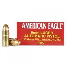FEDERAL AMMUNITION Ammunition AMERICAN EAGLE AE9DP