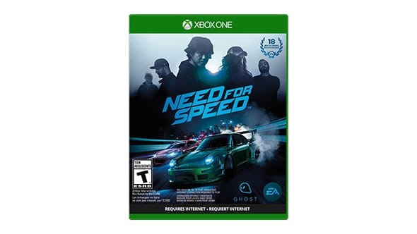 MICROSOFT Microsoft XBOX One Game NEED FOR SPEED XBOX ONE