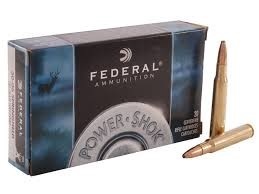 FEDERAL AMMUNITION Ammunition 30-06 150 GRAIN SOFT POINT