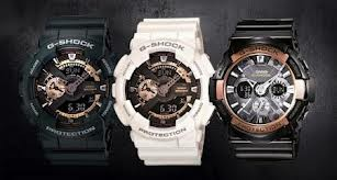 CASIO Gent's Wristwatch GA-110RG