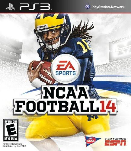 SONY Sony PlayStation 3 Game NCAA FOOTBALL 14