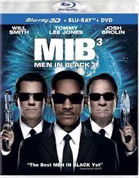 BLU-RAY MOVIE Blu-Ray MEN IN BLACK 3