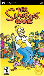 SONY Sony PlayStation 3 Game THE SIMPSONS GAME