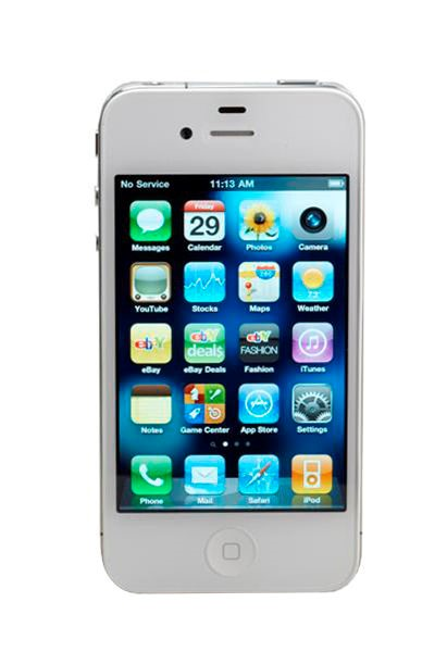 APPLE Cell Phone/Smart Phone IPHONE 4 MD197LL/A 8GB ATT