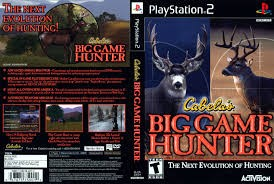 SONY Sony PlayStation 2 Game CABELAS BIG GAME HUNTER