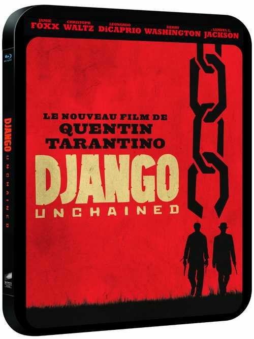 BLU-RAY MOVIE Blu-Ray DJANGO UNCHAINED