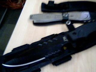 CHINA Combat Knife BLACK COMBAT KNIFE