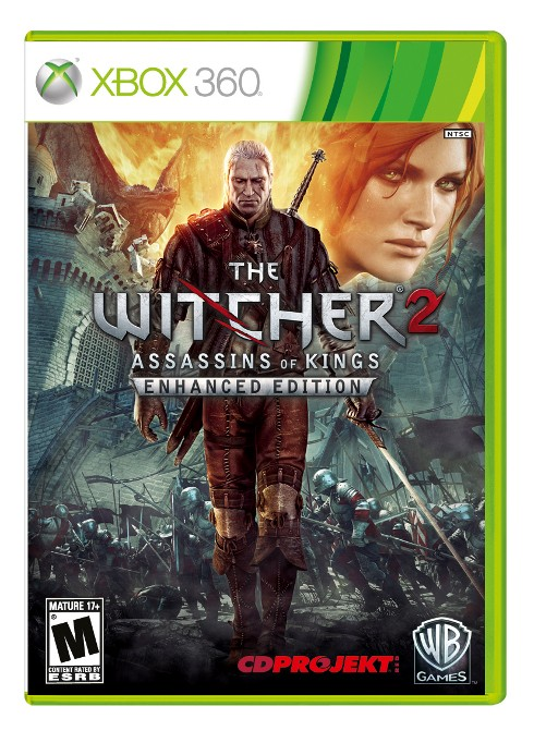 MICROSOFT Microsoft XBOX 360 Game XBOX 360 THE WITCHER 2