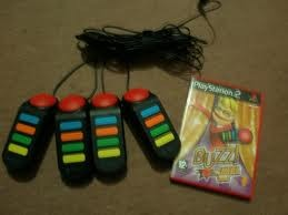 SONY Video Game Accessory PS2 BUZZ GAME ACCESSORY