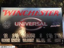 WINCHESTER Ammunition UNIVERSAL 12 GAUGE 25 ROUND