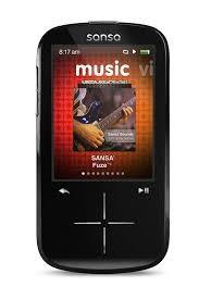 SANSA MP3 FUZE+