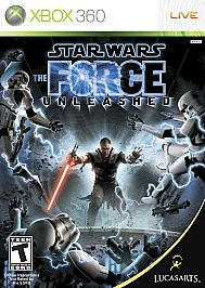 STAR WARS THE FORCE UNLEASHED- XBOX 360