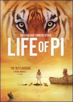 DVD MOVIE DVD LIFE OF PI