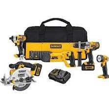 DEWALT Combination Tool Set DCK592L2 20 V MAX PREMIUM 5-TOOL COMBO KIT