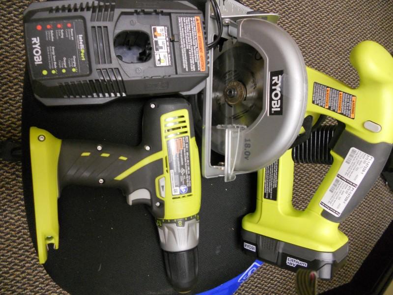RYOBI Combination Tool Set P271/P501G