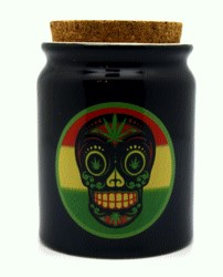 FANTASY GIFTS 2569 CORK JAR DAY OF THE DEAD