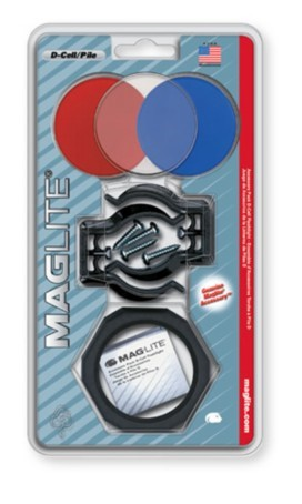 MAG-LITE Flashlight ACCESSORY PACK D-CELL FLASHLIGHT